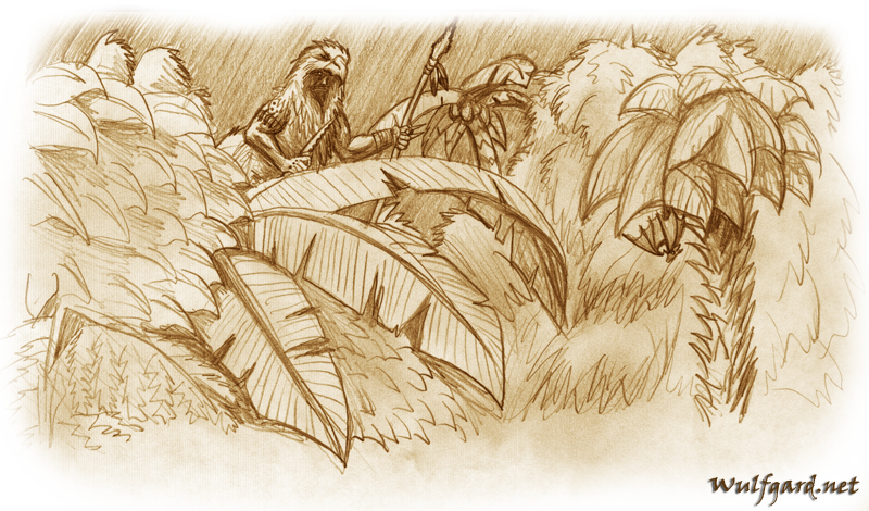 Roleplay In The Jungle Wg Concept Art Sketches Gallery Saber Scorpion S Lair Forums Sslf