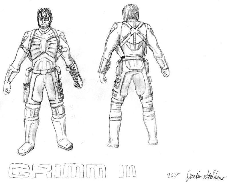 Grimm III Armor