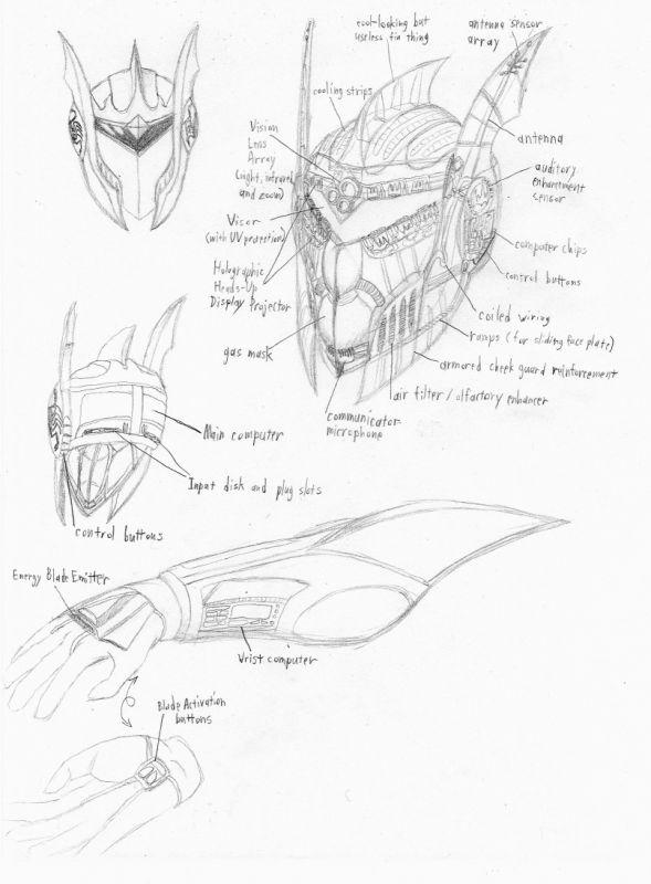 Enomeg Armor Concepts