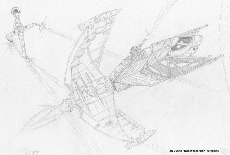 Stingray Sketch