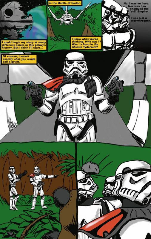 Stormtrooper Comic