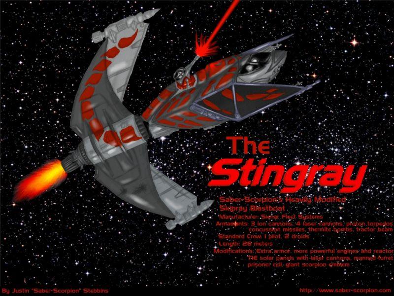 Stingray (colored)