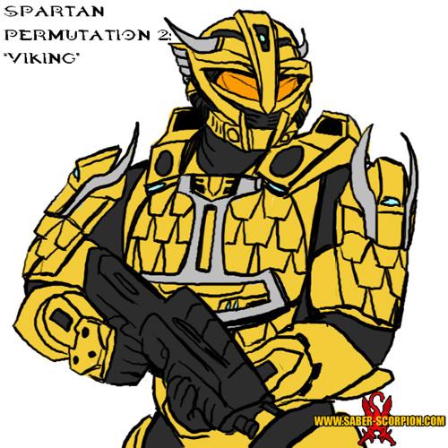 Spartan Armor Permutation - Viking