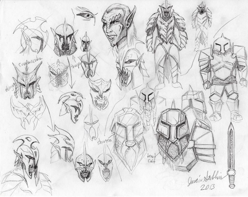 Dvergar and Svartalfar Armor