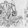 Xarkon Soldiers Sketch