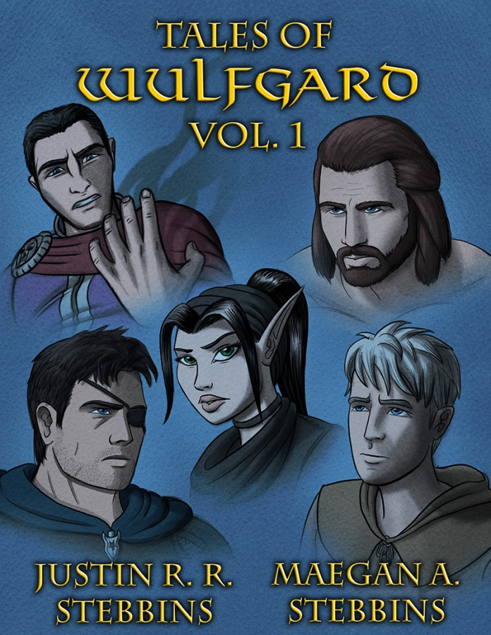 Tales of Wulfgard, Volume 1 Cover Design