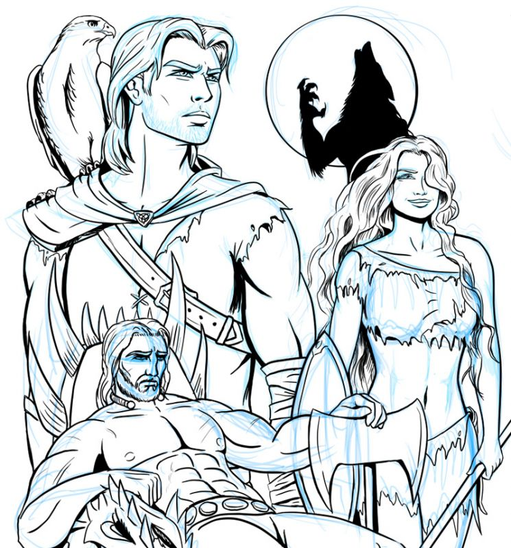 """Northrim"" Cover WIP"