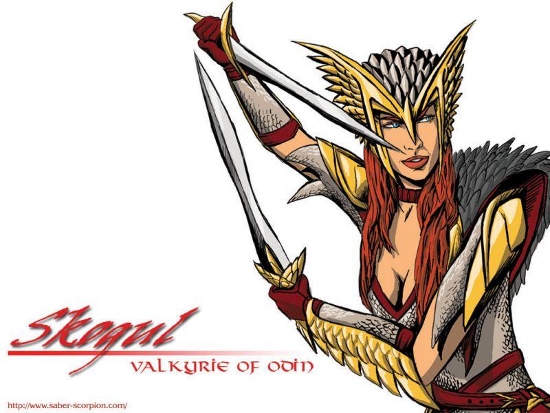 Skogul, Valkyrie of Odin