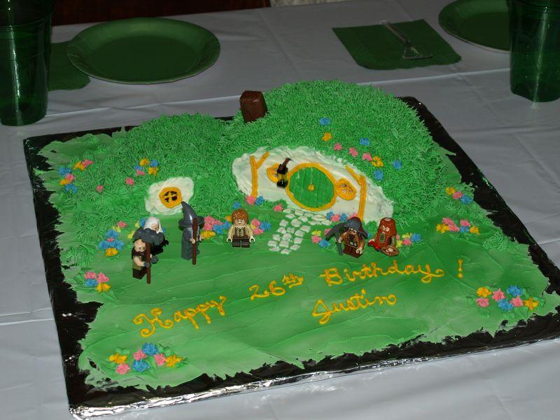Hobbit Cake - 2013