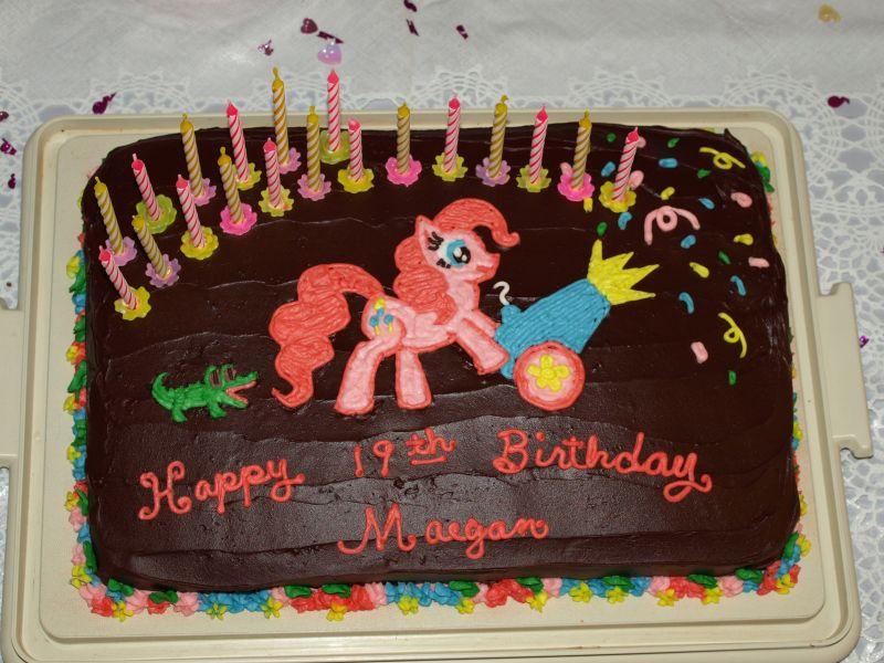Pinkie Pie Cake - 2012