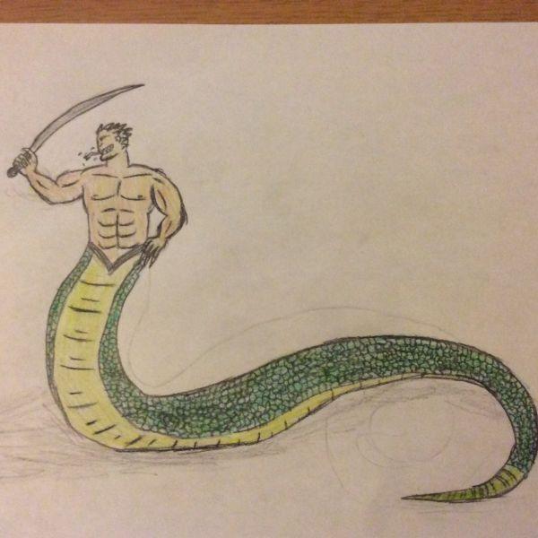 Beastfolk Snake-Man (Serpentine)