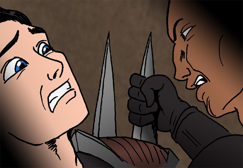 hanan threatens Kye