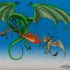 Dragon vs. Wyverns